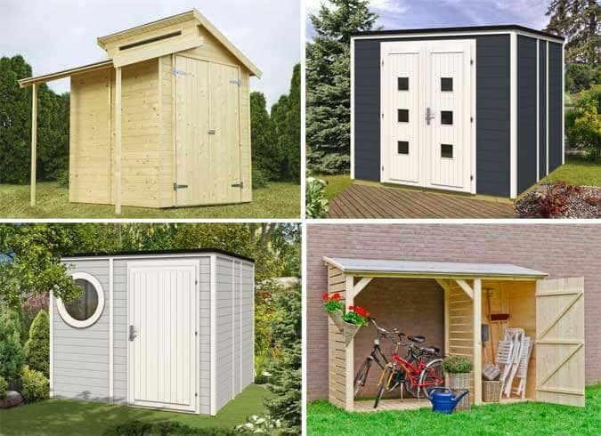 Auch Ein Gerätehaus Darf Gut Aussehen Inspirationen Für Sie