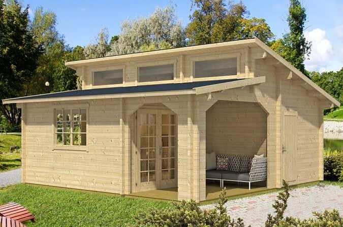 pultdach satteldach flachdach gartenh user und ihre. Black Bedroom Furniture Sets. Home Design Ideas