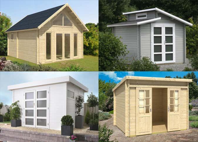 pultdach und co die dachformen von gartenh usern. Black Bedroom Furniture Sets. Home Design Ideas