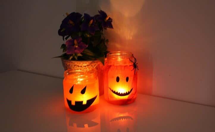 halloween im garten deko ideen f r drau en gartenhaus. Black Bedroom Furniture Sets. Home Design Ideas