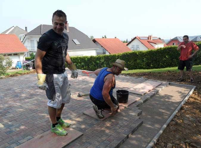 Gartenhausfundament