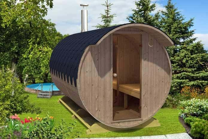fass sauna aus thermoholz die kologische alternative zu tropenholz gartenhaus magazin. Black Bedroom Furniture Sets. Home Design Ideas