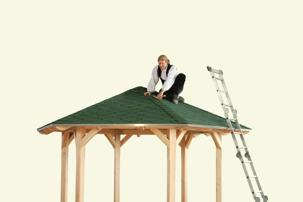 gartenpavillon aufbauen die aufbauanleitung. Black Bedroom Furniture Sets. Home Design Ideas