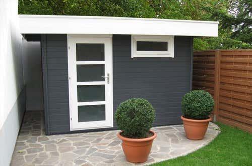 flachdach gartenhaus abdichten gartenhaus magazin. Black Bedroom Furniture Sets. Home Design Ideas