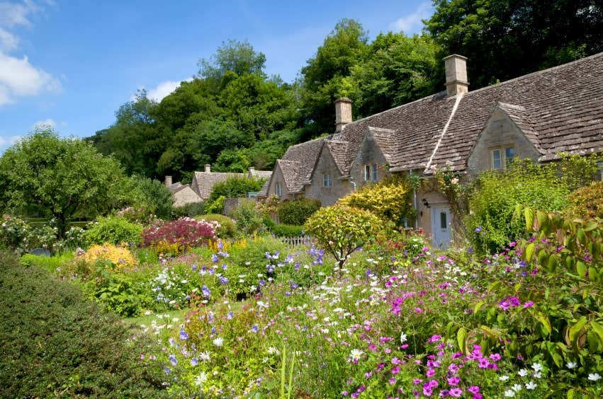 Super Cottage Garten: Gestaltungsideen im englischen Stil OW56