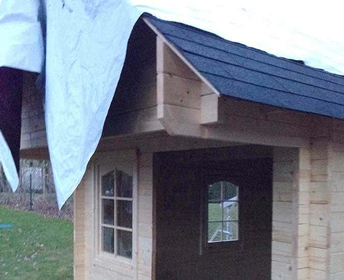 gartenhaus bunkie 40 gelungener aufbau und wundersch ne. Black Bedroom Furniture Sets. Home Design Ideas