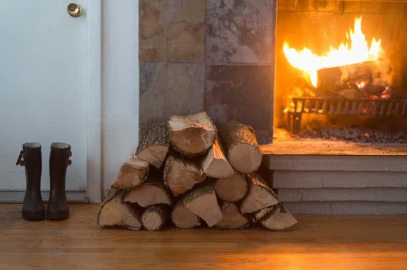 brennholz lagern tipps und tricks. Black Bedroom Furniture Sets. Home Design Ideas