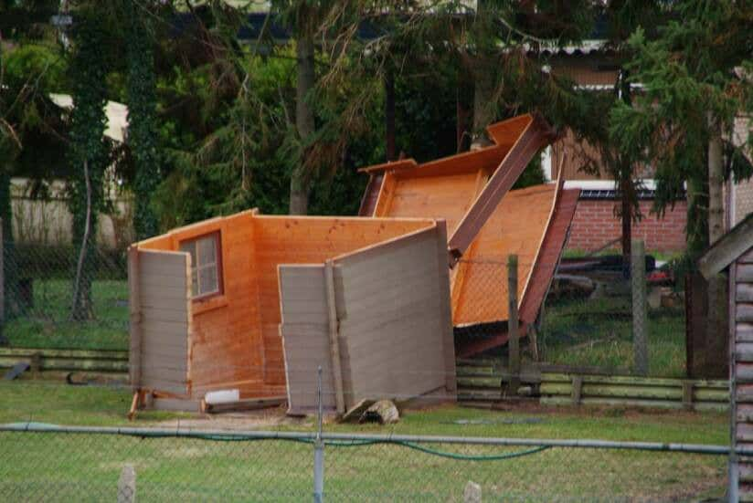 gartenhaus sturmsicher machen: sturmschaden ade!