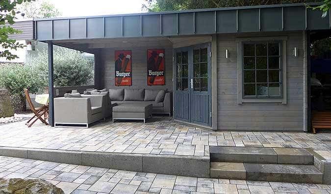 Outdoor Küche Im Gartenhaus : Das gartenhaus hanna mit individuellem dach