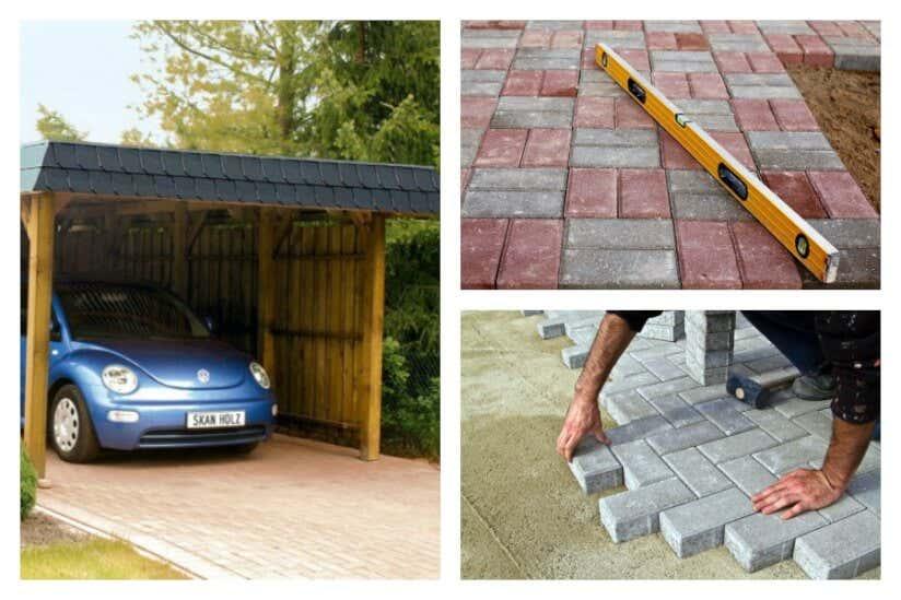 Einfahrt pflastern – Bodenbelag und Bauanleitung