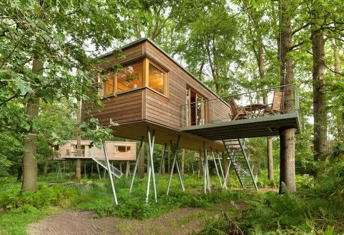 Gartenhaus Auf Stelzen Bauen Ideen Furs Stelzenfundament