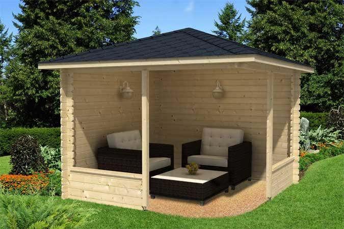 das gartenhaus im japanischen stil gartenhaus magazin. Black Bedroom Furniture Sets. Home Design Ideas