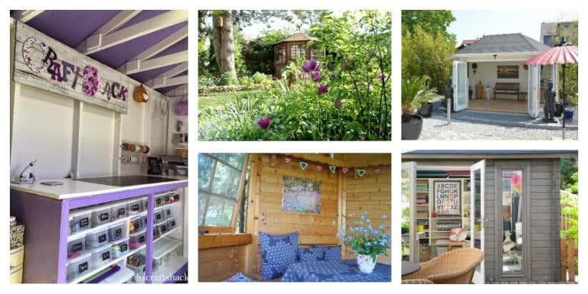 Perfekt Kleines Gartenhaus Im Großen Stil Einrichten U2013 6 Außergewöhnliche Varianten