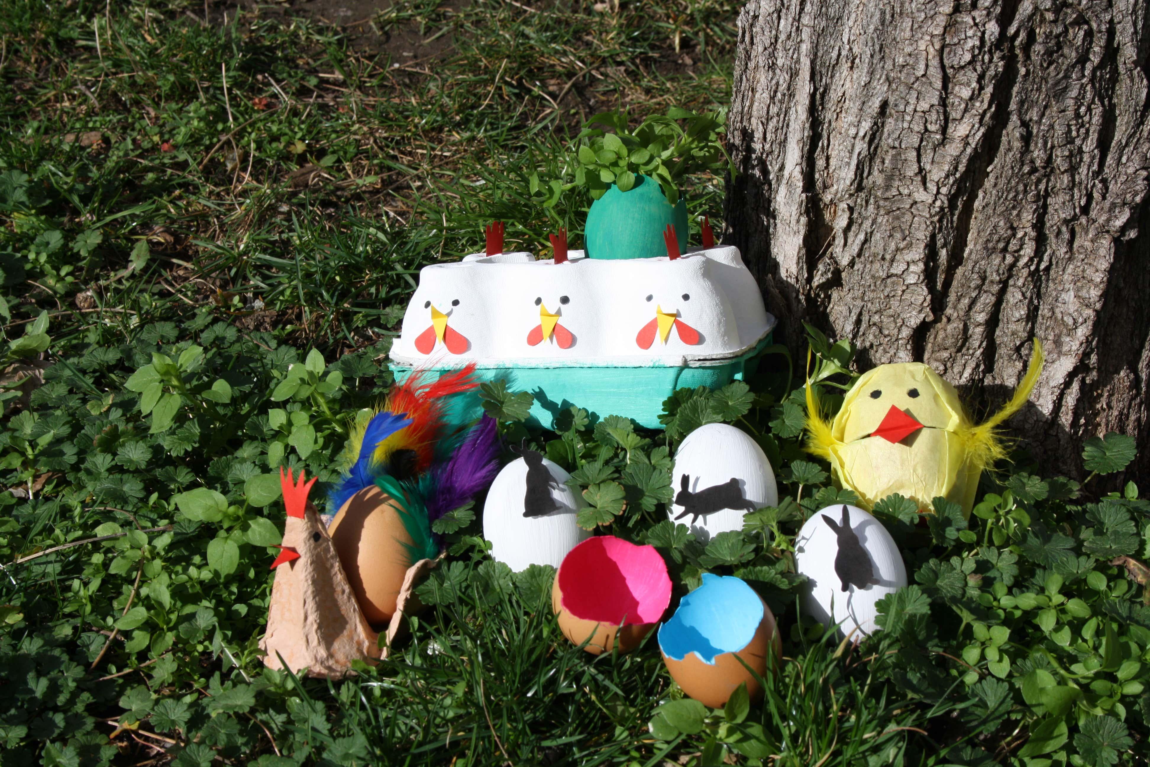 Basteln Fur Ostern 6 Ideen Zum Basteln Mit Eiern