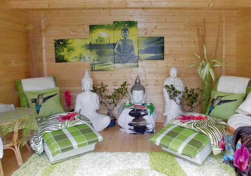 Uberlegen Gartenhaus Deko Asiatisch Buddhistisch