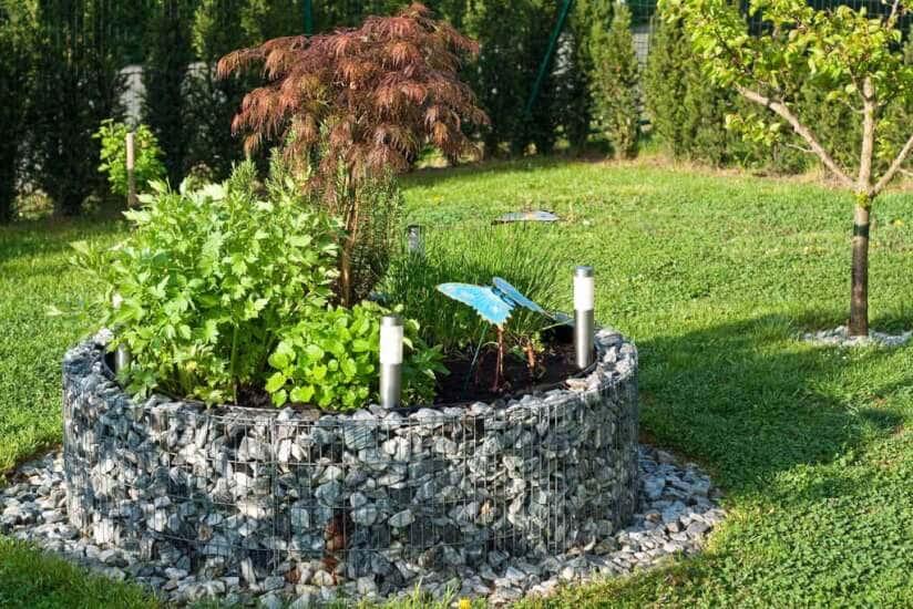 Gabionen Gartengestaltung Vielseitige Ideen Mit Gabionen