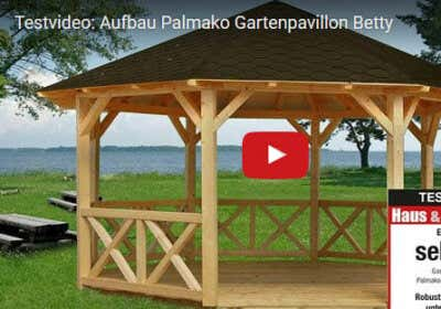 gartenpavillon betty im aufbauvideo