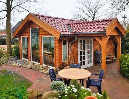 Ein Saunafass Als Gartenhaus Bolls Fonduest Bli
