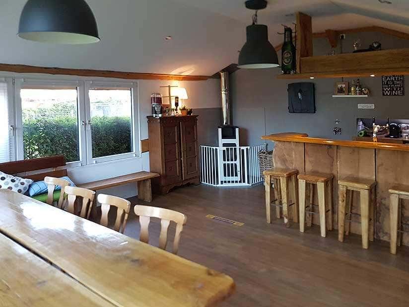 Kamin im gartenhaus einbauen gallery of sauna im for Innenraum planen
