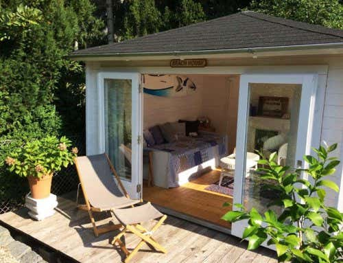 container statt gartenhaus awesome affordable container. Black Bedroom Furniture Sets. Home Design Ideas