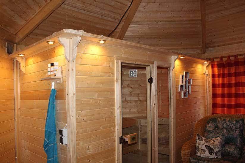 Sauna Im Pavillon: Eine Kreative Ausbau-Idee Zur Gartensauna