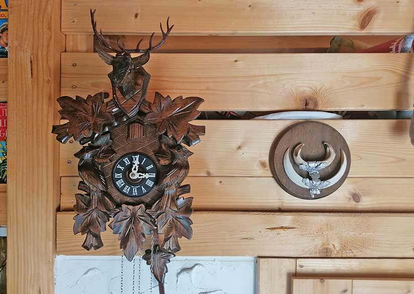 Clockhouse XL ausgebaut: mit Schlafboden, Kochnische ...