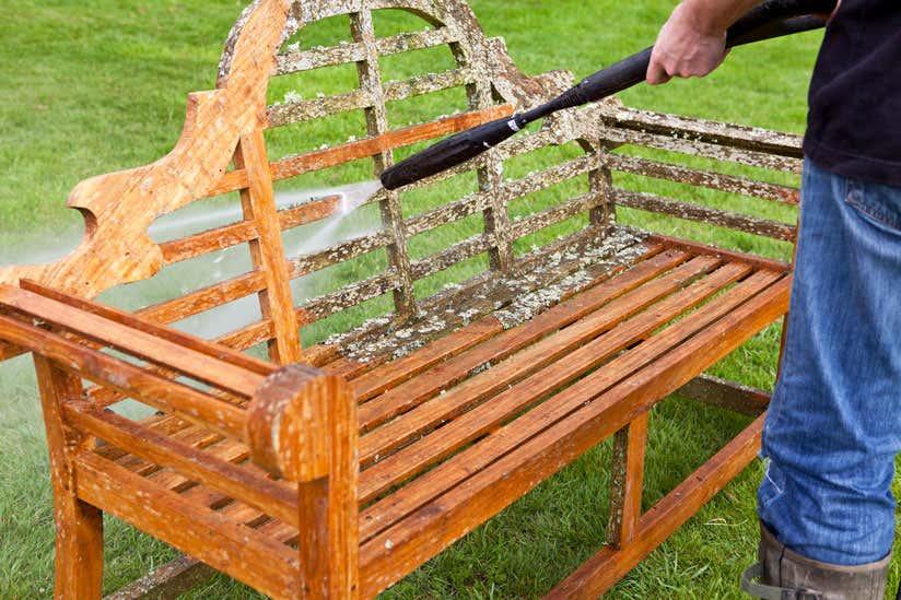 Gartenmobel Reinigen So Werden Holz Metall Co Sauber