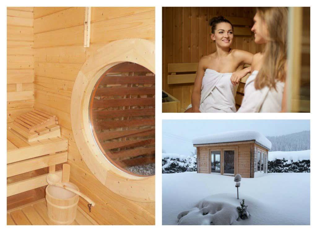 Collage-Sauna-Innen-Gartensauna-Saunieren