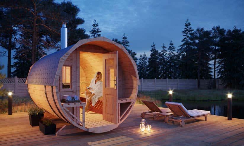 Relativ Outdoor-Sauna im Garten: Tipps rund ums Saunahaus BF58