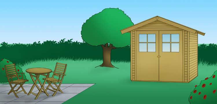 gartenhaus-terrasse-zeichnung-garten-gartenst-hle