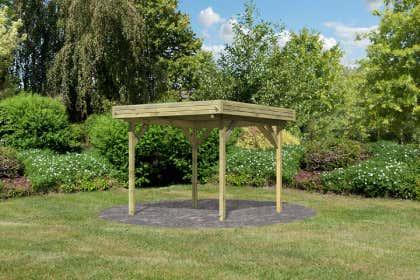 Berühmt Gartenpavillon aus Holz kaufen – Gartenlauben vom Fachmann WC31