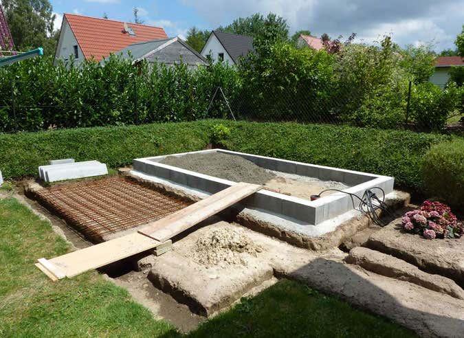 Hervorragend Das richtige Fundament für Ihr Gartenhaus US83
