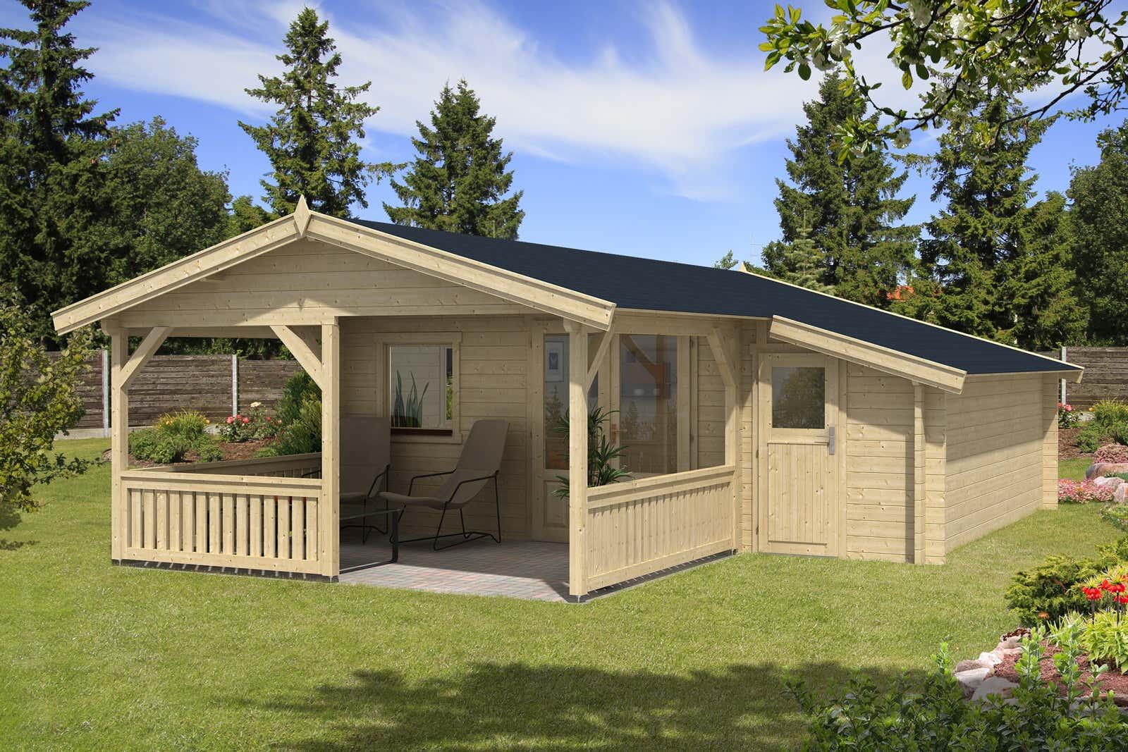 gartenhaus flex 50 c mit 300cm terrasse anbau 4x4 3z a z gartenhaus gmbh. Black Bedroom Furniture Sets. Home Design Ideas