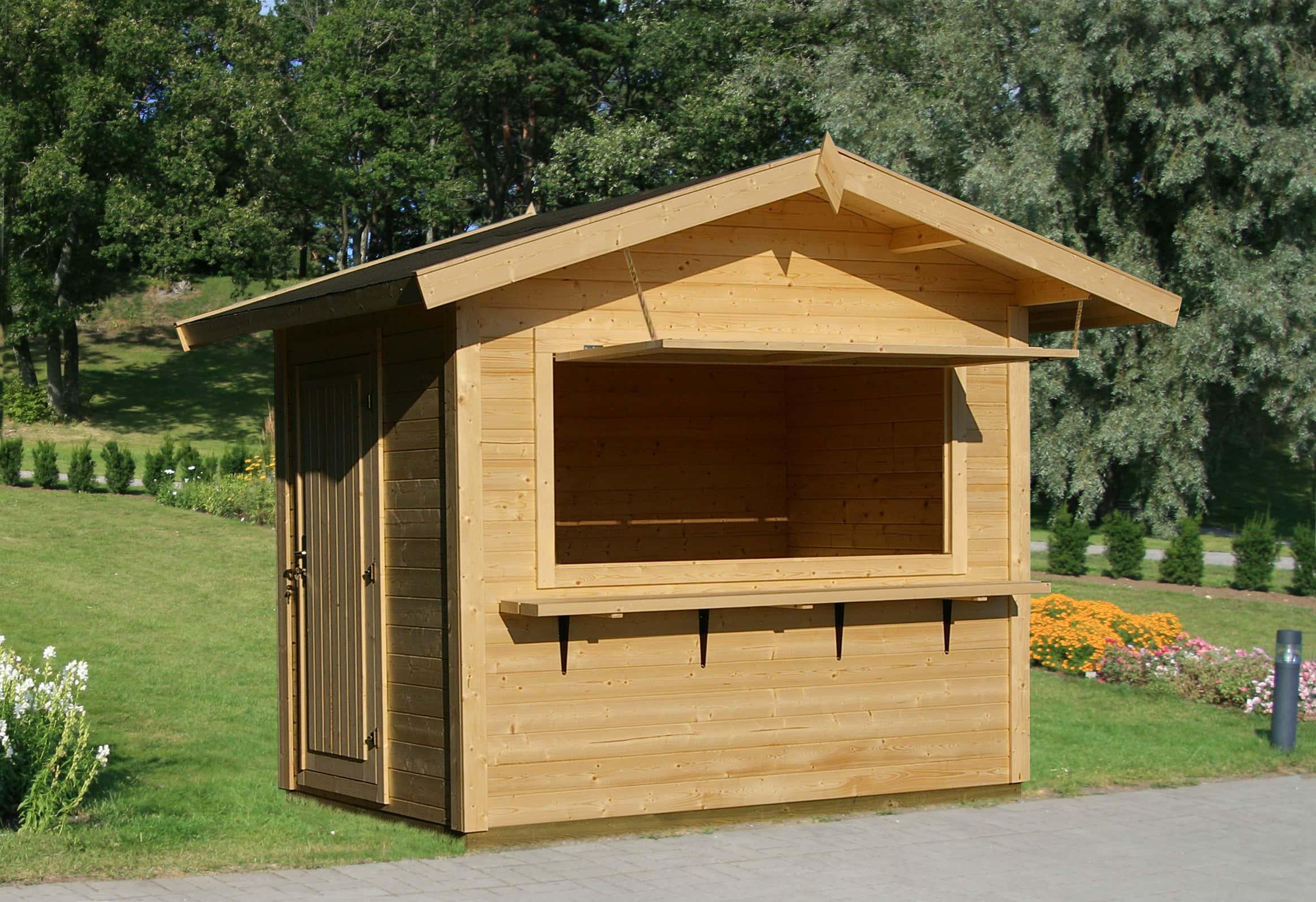 verkaufsstand aus holz kaufen marktst nde verkaufsh tten. Black Bedroom Furniture Sets. Home Design Ideas