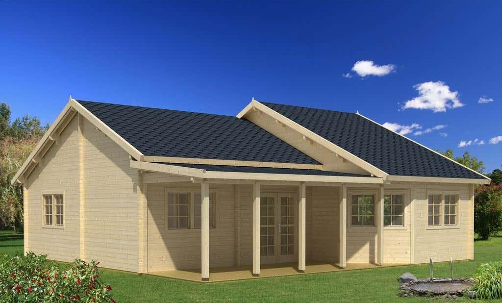 Blockhaus kaufen holzhaus und blockbohlenhaus bis zu 20 for Gartenhaus zum wohnen